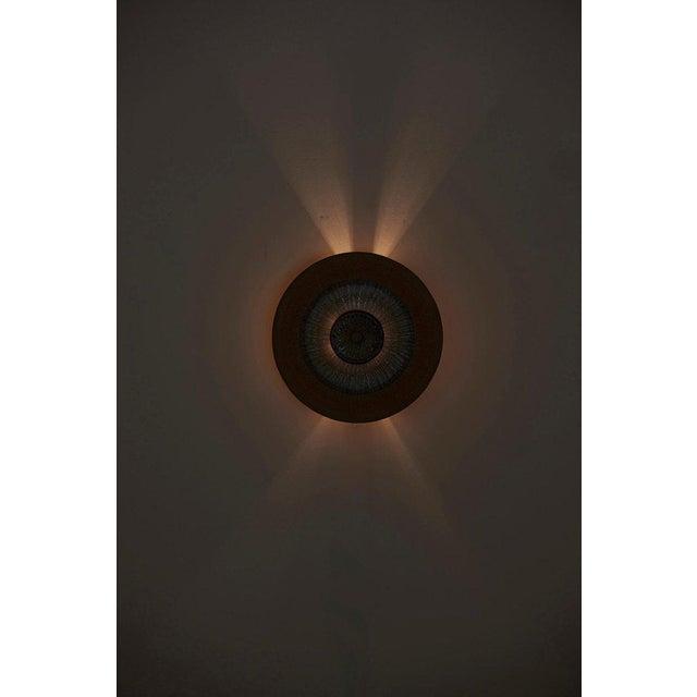 Blue Set of 15 Ceramic Wall Lights by Noomi Backhausen & Poul Brandborg for Søholm For Sale - Image 8 of 11