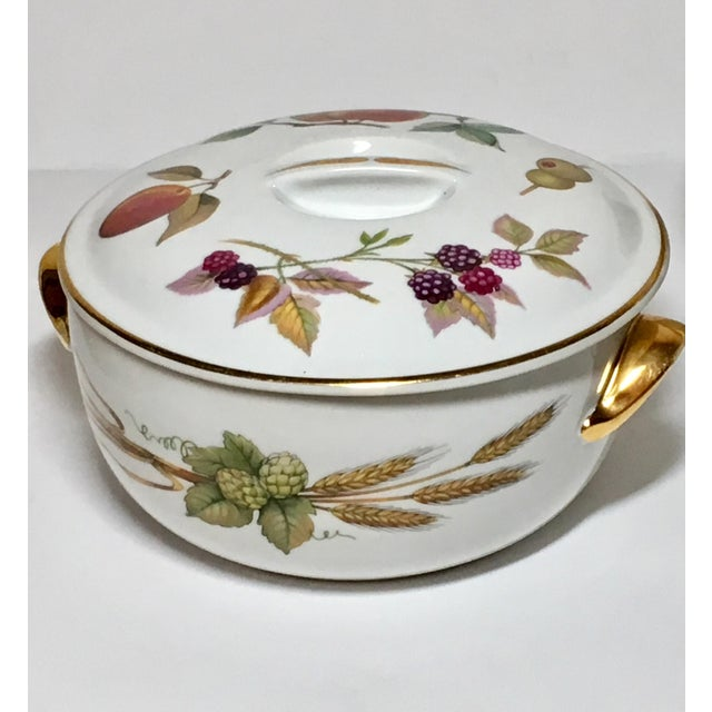Royal Worcester Evesham Casseroles - A Pair For Sale - Image 4 of 5