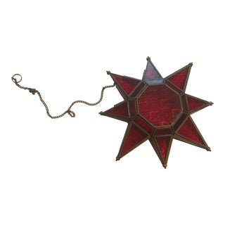 Moravian Star Lantern For Sale