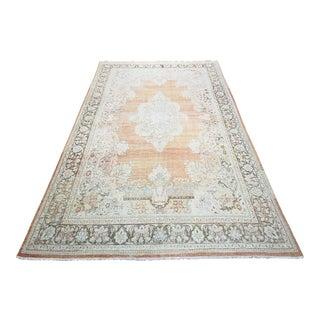 """1940s Vintage Persian Mahal Oversized Rug, 10' X 13'8"""" For Sale"""