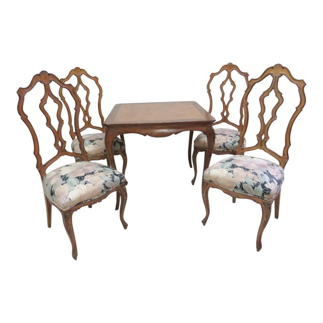 Enjoyable French Style Breakfast Nook Dining Set 5 Pieces Unemploymentrelief Wooden Chair Designs For Living Room Unemploymentrelieforg