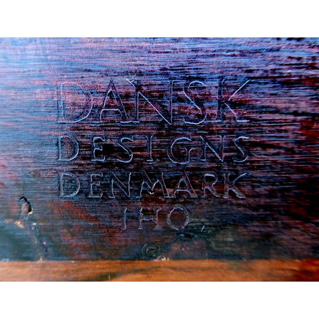 Wood Rosewood Ice Bucket by Jens Quistgaard for Dansk For Sale - Image 7 of 7