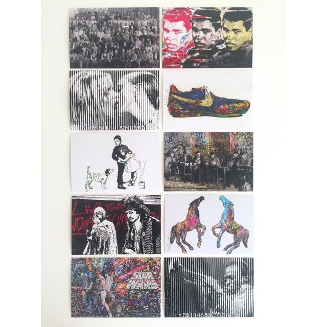 Mr. Brainwash Original Pop Art Exhibition Event Postcard Prints - Set of 10 For Sale - Image 11 of 11