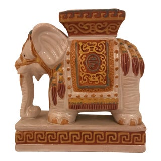 Ceramic Elephant Planter For Sale