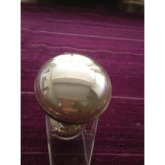 Mercury Glass Door Knobs - 4 Sets For Sale - Image 4 of 11