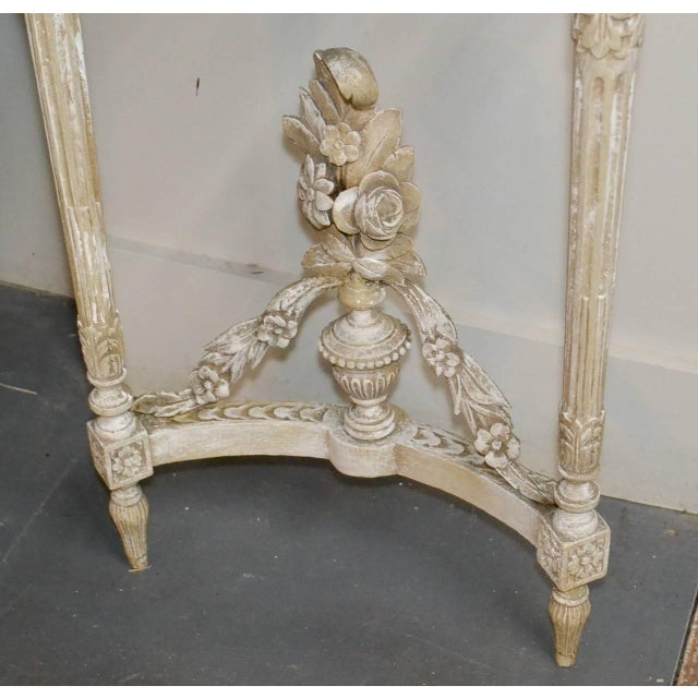 19th Century Pair of French Louis XVI Consoles For Sale - Image 9 of 11