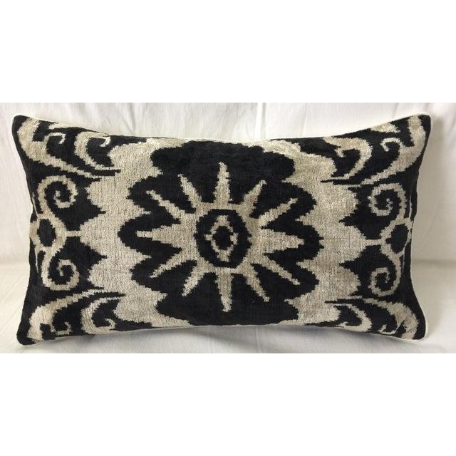 Silk Velvet Accent Pillow - Image 2 of 3