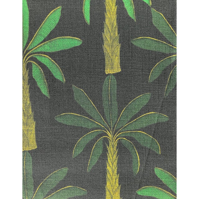 Tropical Fabric in Carbon, 5 Yards For Sale