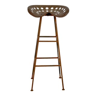 Tractor Seat Bar Stool, American Circa 19th Century For Sale
