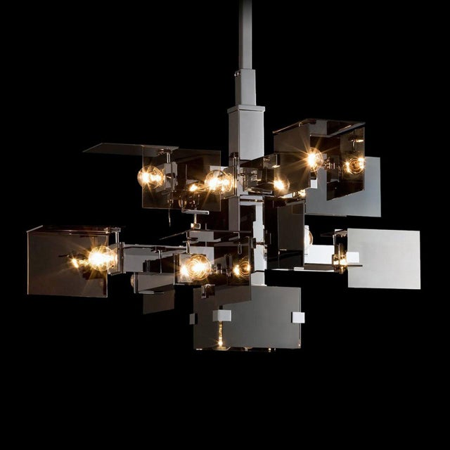 """Contemporary """"David Collins"""" Ceiling Chandelier by David Collins For Sale - Image 3 of 5"""