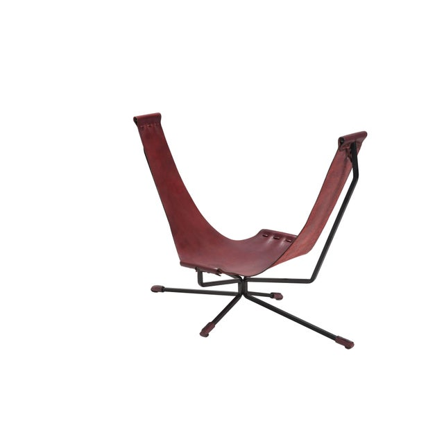Metal Reading & Lounge Chair U Chair For Sale - Image 7 of 7