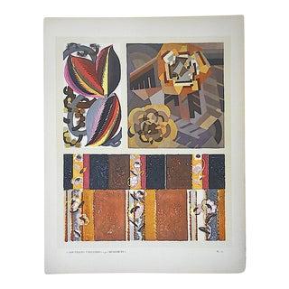 Vintage Hand Printed Pochoir Print by Benedictus-Paris-C.1924 For Sale