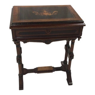 20th Century Victorian Sewing Stand For Sale