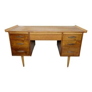 Vintage Walnut Desk For Sale
