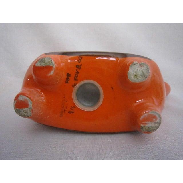 Italian Orange Dog Piggy Bank - Image 5 of 5