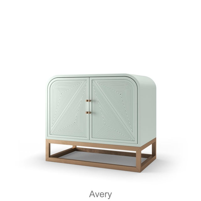 Avery Credenza - Turquoise Mist For Sale - Image 4 of 4