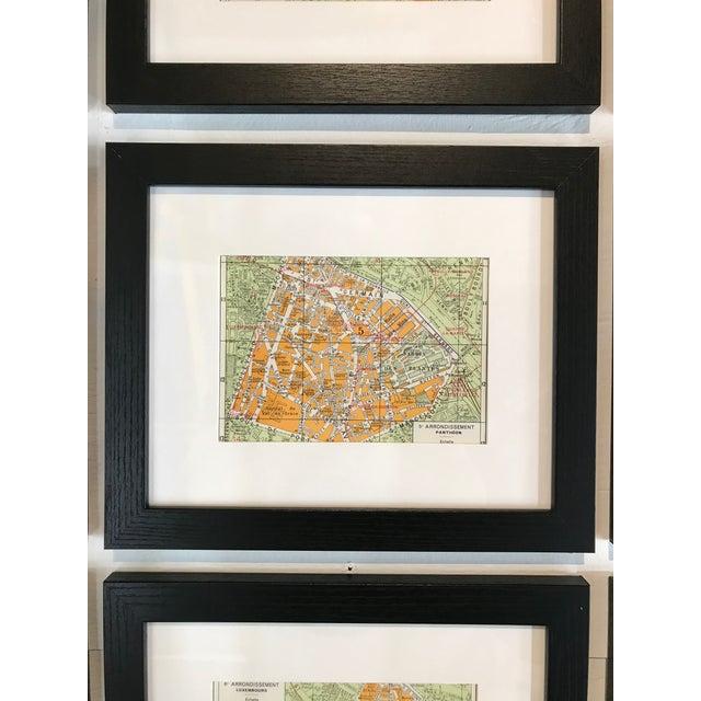 Paris World Exposition Tourist Map of the Arrondissements Set of 25 For Sale - Image 4 of 5