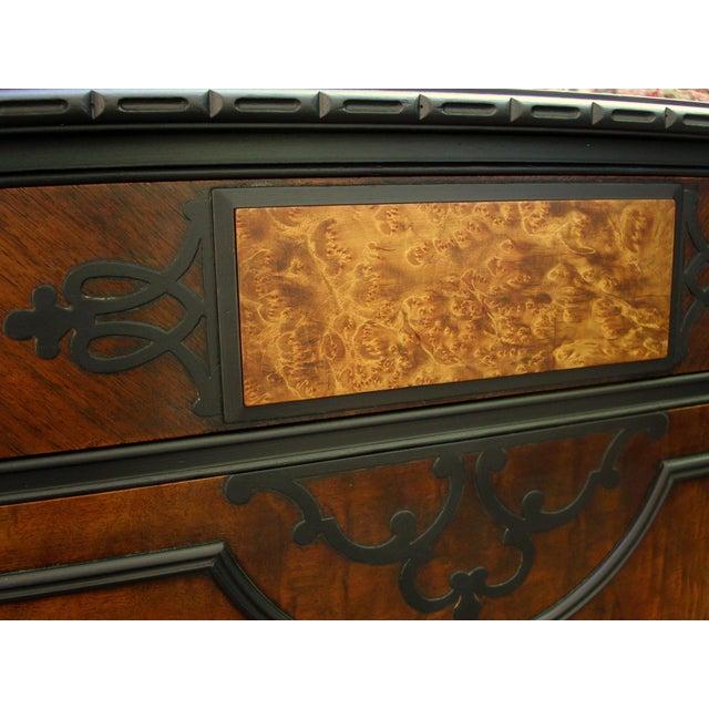 Gothic Jacobean Mahogany Dresser - Image 6 of 11