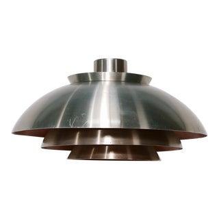 Danish Aluminium Pendant Lamp