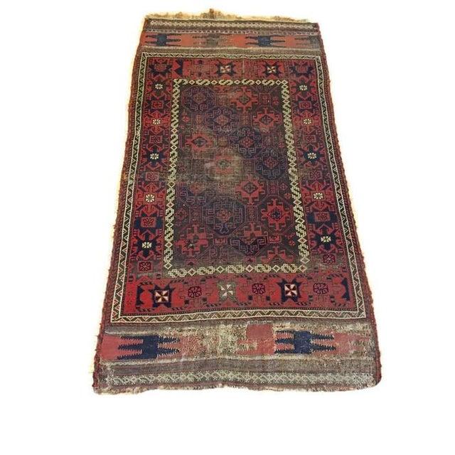 "Vintage Tribal Persian Rug - 3' x 5'10"" - Image 1 of 7"