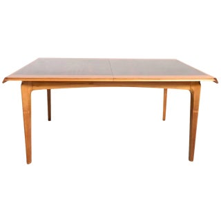 De Coene Rosewood-Walnut Dining Table Designed by Fred Sandra, 1958, Belgium For Sale