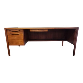 1960s Danish Modern Executive Desk by Jens Risom For Sale