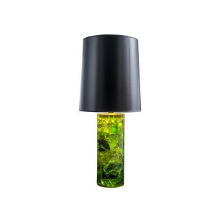 Vintage Green Resin Table Lamps For Sale