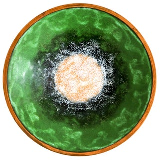 Enameled Copper Bowl & Candle Holders Preview