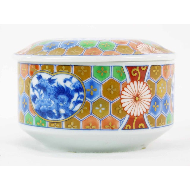 Japanese Imari Porcelain Trinket Box - Image 3 of 6