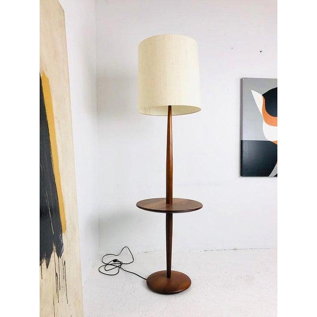 Mid Century Modern Floor Lamp With Table Chairish