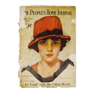 Early February 1920 The People's Home Journal Magazine For Sale