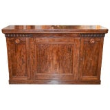 Image of French Empire Burl Walnut Buffet For Sale