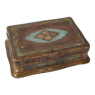 Italian Vintage Wooden Box