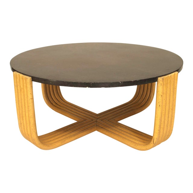 American Art Moderne 1930s Coffee Table For Sale