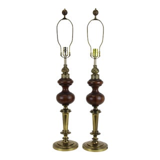 Mid-Century Rembrandt Table Lamps - A Pair For Sale