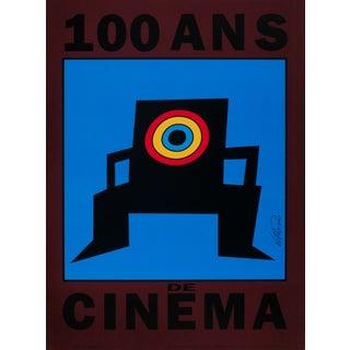 Art Poster - 100 Ans de Cinema - Vittorio, 1992