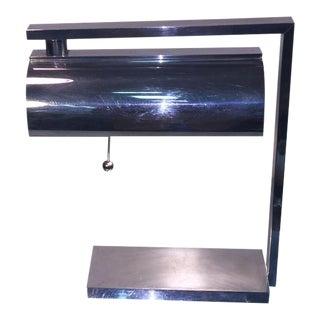 Striking Modernist Art Deco Desk Lamp Attributed to Donald Deskey For Sale