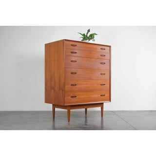 Rare Erik Buch Danish Teak Highboy Dresser Preview