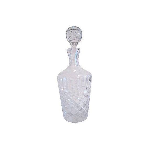 Vintage Crystal Decanter Set - 7 Pieces - Image 2 of 5
