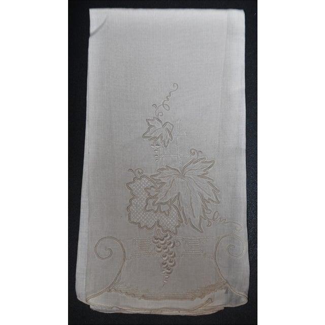 Vintage Embroidered Tea Towels - Set of 3 - Image 7 of 8