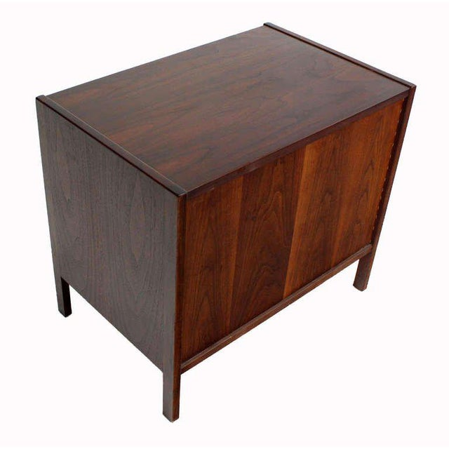 Danish Mid-Century Modern Walnut End Table For Sale - Image 9 of 9