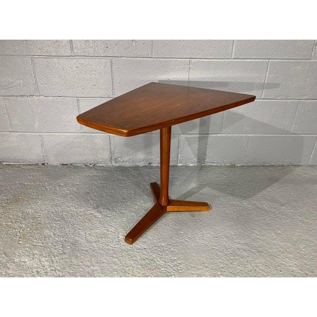 DUX 1960s Mid-Century Swedish Modern Dux Teak Side Table For Sale - Image 4 of 13