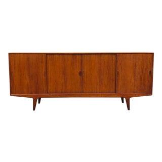 1950s Danish Modern Arne Vodder Teak Credenza For Sale
