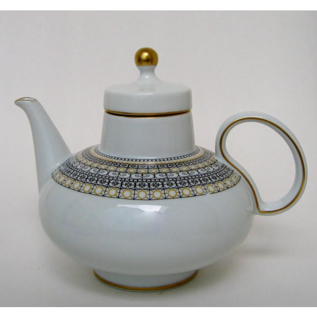 Argentinian Porcelain Teapot For Sale In Los Angeles - Image 6 of 9