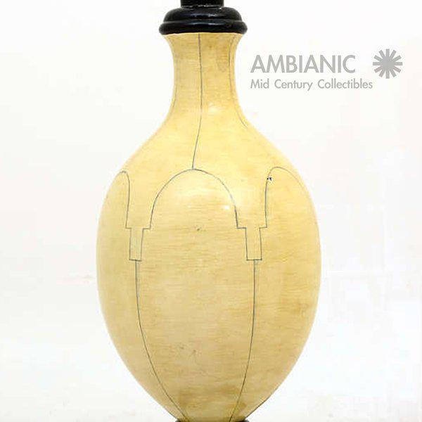 Christian Fersen Table Lamps, Hollywood Regency Era For Sale - Image 9 of 9