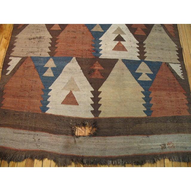 Vintage American Navajo Rug - 5′2″ × 9′5″ - Image 3 of 6