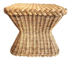 Image of Rattan Side Tables
