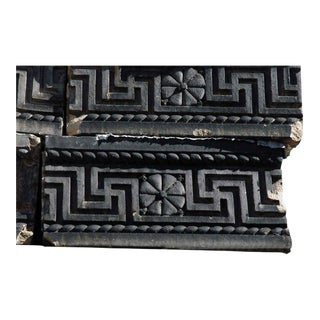 Salvaged Greek Revival Terra Cotta Trim