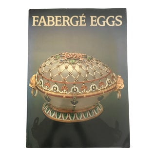 """1981 """"Faberge Eggs"""" First Edition Softcover Art/Photo Book For Sale"""