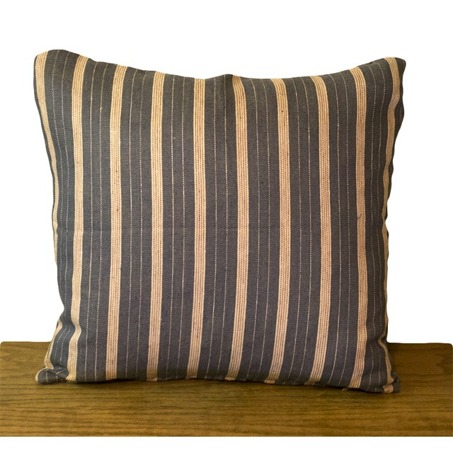Rogers & Goffigon Linen Striped Pillows - S/3 - Image 4 of 5